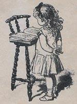 Ilustración original del cuento Nené Traviesa.