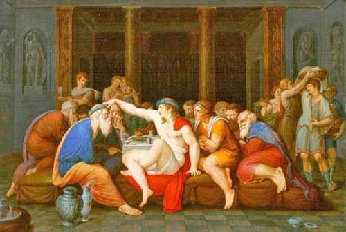 El Banquete, obra de Giam Battista